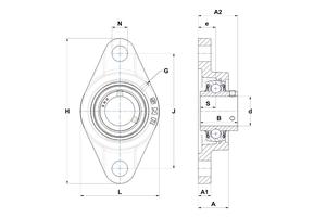 UCFL201-08L4